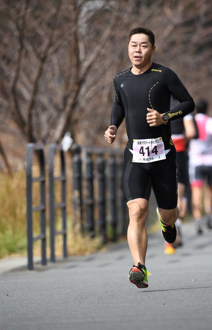 PNFストレッチでマラソン時の足の方向を意識付けた